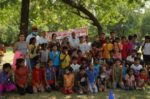 Dana Pani Sanstha organized race and painting competition