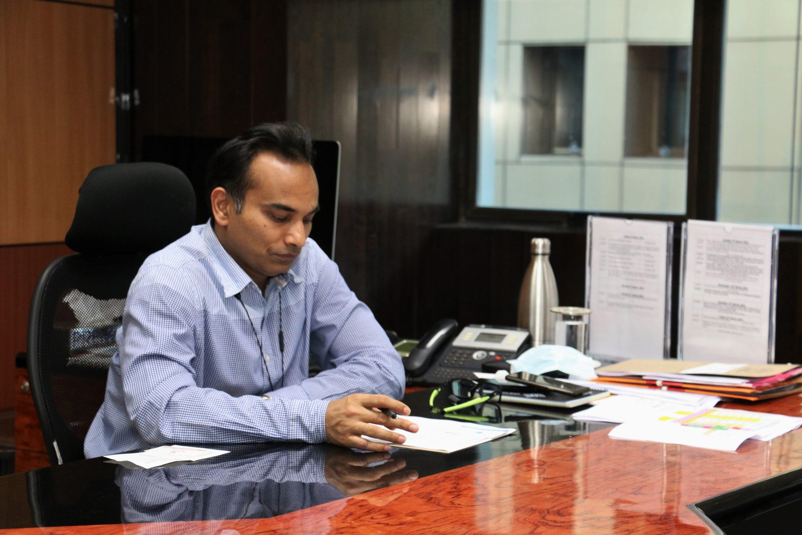 North MCD: नवनियुत आयुक्त संजय गोयल ने कार्यभार संभाला